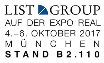 List Group auf der Expo Real 2017